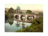 Hathersage, Lead Mills Bridge, Derbyshire, England Giclee Print