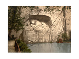 Lion Monument, Lucerne, Switzerland Giclee Print