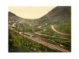 Barnesmore Gap. County Donegal, Ireland Giclee Print
