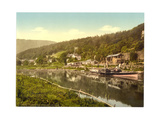 Steamboat Pier, Trefriew, Wales Giclee Print