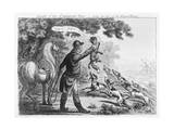 Death of the Corsican Fox--Scene the Last of the Royal-Hunt Giclee Print