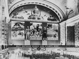 New York, New York, Photo Mural to Promote the Sales of Defense Bonds Photographic Print