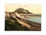 Jersey, Gorey and the Castle, Channel Island, England Giclee Print
