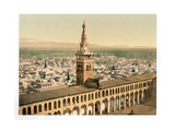 General View and Minaret of the Bride, Damascus, Holy Land Giclee Print