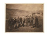 Major Burton and Officers of the 5th Dragoon Guards Photographic Print
