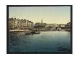 Panorama and Bourse from La Gloirette Giclee Print