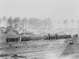 Guard Mount in Camp of 114th Pennsylvania Inf'y. - Brandy St Photographic Print