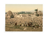 The Cemetery Where the Family of Mahomet are Buried Giclee Print