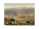 General View, Mount Hermon, Holy Land Giclee Print