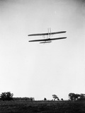 Rear View of Flight 46, Orville Shown Flying at a High Altitide Photographic Print