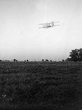 Rear View of Flight 46, Orville Turning to the Left; Huffman Photographic Print