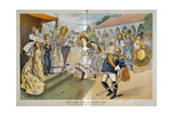 Pope Leo Picking Wife for King Alfonso XIII of Spain Giclee Print