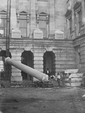 The Lincoln Column, First Monolith Raised, Nov. 1860, Presidential Election Photographic Print