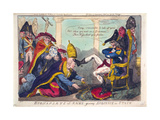 Buonaparte at Rome Giving Audience in State Giclee Print