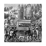 Robert Duc de Normandie Falls Ill During a Pilgrimage Giclee Print
