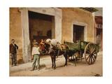 Un Mulo de La Habana Giclee Print