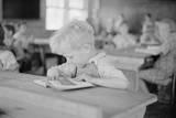 School Scene at Skyline Farms, Near Scottsboro, Alabama Photographic Print