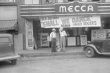 1930S Mecca Cinema in America Photographic Print