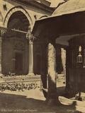 Cour de La Mosque Bayazid Photographic Print