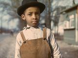 Negro Boy Near Cincinnati, Ohio Photographic Print