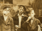 11:00 A. M . Monday, May 9Th, 1910. Newsies at Skeeter's Bra Photographic Print