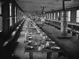 Washington, DC Mess Hall at Harewood Hospital, Heated by Elaborate Stoves Photographic Print