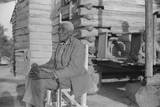 Old Man Moseley, Now Blind, Gees Bend, Alabama Photographic Print