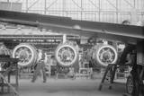 At One of the Final Assembly Stages in the Vought-Sikorsky Aircraft Corporation Photographic Print
