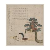 Decoration of Three Treasures and a Mask of Otafuku Giclee Print