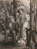Jessie T. Beals with John Burroughs Photographic Print