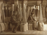Boys in Packing Room. S. W. Brown Mfg. Co., Evansville, Ind. Photographic Print