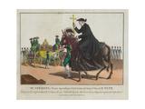 Mr. Speroni, Nonce Apostolique, Porte-Croix de Notre St. Pere Le Pape Giclee Print