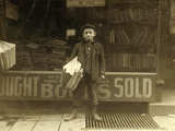 12 Year Old Newsboy, Hyman Alpert, Been Selling Three Years Photographic Print