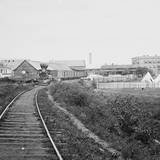 Culpeper Court House, Va. Freight Train on Orange and Alexandria Railroad Photographic Print