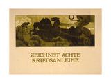 Zeichnet Achte Kriegsanleihe Giclee Print