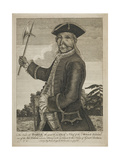 The Brave Old Hendrick the Great Sachem or Chief of the Mohawk Indians Giclee Print