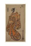 Courtesan Likened to the Chinese Sage Zhang Guolao (Chokaro) Giclee Print