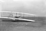 Orville Piloting the Third Flight of December 17, 1903 Photographic Print