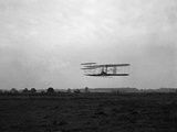 Flight 23: Front View of the Machine in Flight to the Right Photographic Print