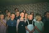 School Children Singing, Pie Town, New Mexico Photographic Print