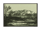Cheyenne Mountain Giclee Print
