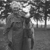 Farmer of Franklin County, Kansas Photographic Print