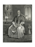 His Holiness Pope Pius IX Giclee Print