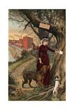 Broadhead Worsted Mills Giclee Print