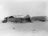View of the Camp at Kitty Hawk from the Northeast Photographic Print