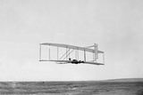 Wilbur Wright of Wright Brothers Flying Photographic Print