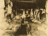 Interior of a Shack Occupied by Berry Pickers. Anne Arundel Photographic Print