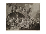 The Plundering of the King's Cellar, Paris, 10th August, 1793 Giclee Print