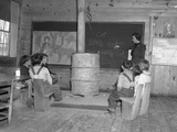 School at Skyline Farms, Alabama Photographic Print
