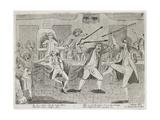 Congressional Pugilists Giclee Print